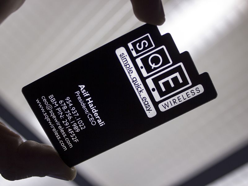 Plastic Business Cards Allow You To Get Noticed Over Cheap Paper Cards