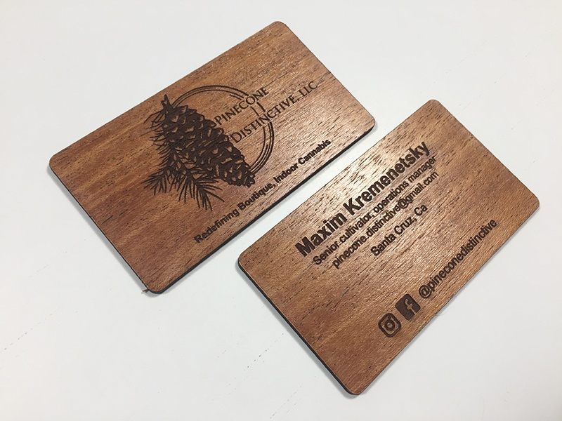 Die Cut Wood Business Cards Images - Card Design And Card Template