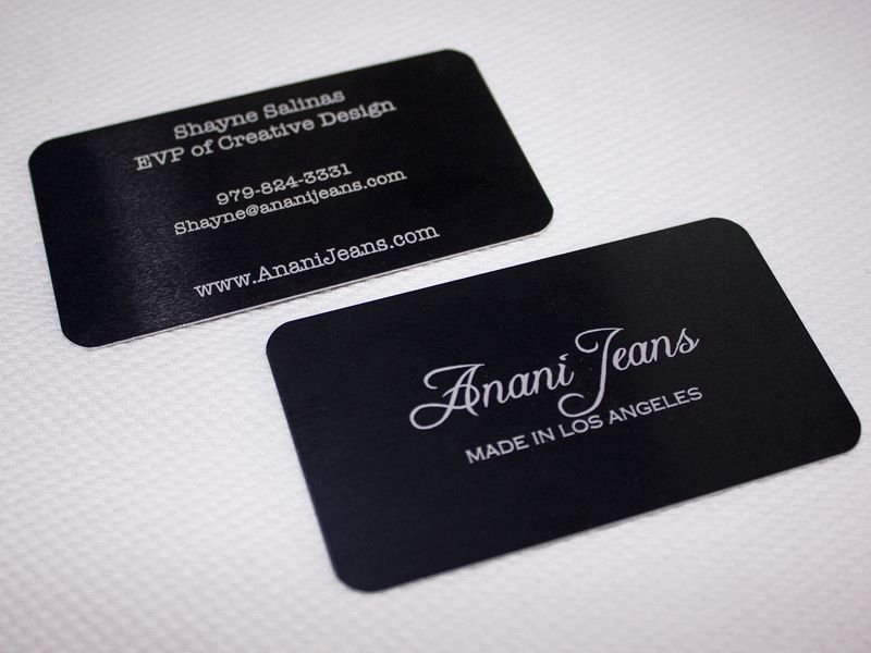 Metal business cards are perfect for a professional and modern look black to silver metal colourmoves