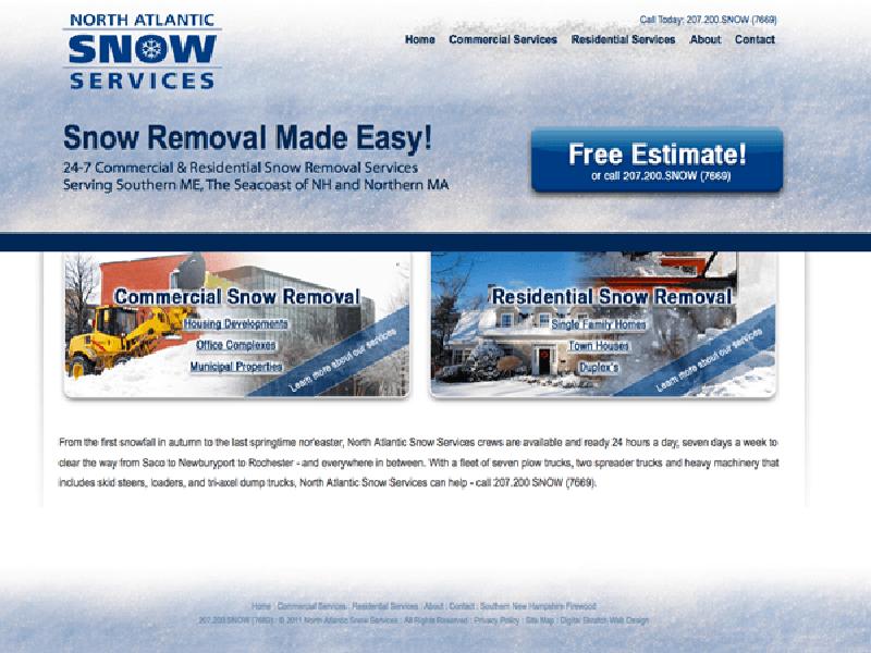 Fully responsive website design by Digital Skratch - Digital
